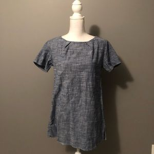Chambray Dress with Pockets (!!)